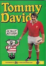 """Tommy David Galles & British LIONS RUGBY BOOK - """"egli VELLY BIG MAN"""" da Dan O'NEIL"""
