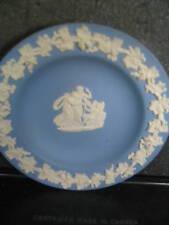"""Wedgwood Grecian Theme Round Dish 4 1/4"""" 3 Fig Angel"""