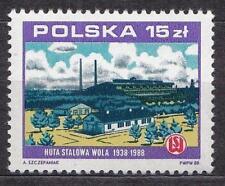 POLAND 1988 **MNH SC#2867 IRONWORKS STALOWA WOLA