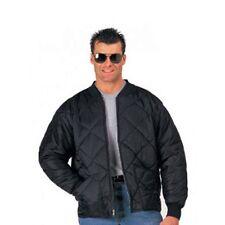 Rothco 7230 Black Diamond Quilted Nylon Flight Jacket