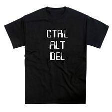 Ctrl Alt Delete Keyboard Computer T-Shirt