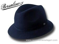 Cappello Borsalino Trilby Traveller Alessandria blu