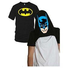 Mens Reversible I'm Batman T Shirt Black NEW DC Comics Gotham