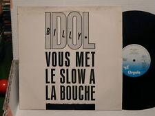 "BILLY IDOL Vous met le slow a la bouche: Sweet sixteen MAXI 12"" 6863323"