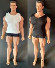 "1/12 Scale Male Soldiers Accessories Clothes Vest 2 Colors F 6"" Action Figure"