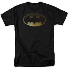 Batman Halftone Bat DC Comics Licensed Adult T-Shirt