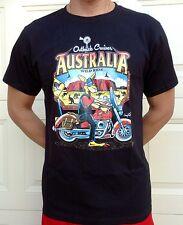 "Adults & Teenager  AUSTRALIA  Funny T-shirt "" Australia Wild Ride "" All Sizes"