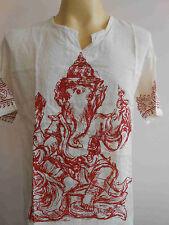 Ganesh Cotton Meditation Ganesha Ganapathi Men's T Shirt M L XL GT10s