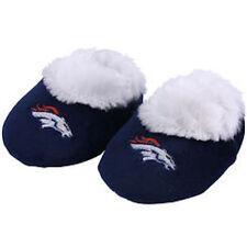 Denver Broncos Baby Bootie Slippers Infant Children Kids Baby Shower NFL