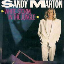 45 TOURS 7' SINGLE--SANDY MARTON--WHITE STORM IN THE JUNGLE--1986