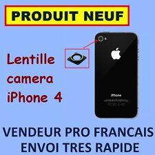 ✖ LENTILLE CAMERA ANNEAU CHROME MODULE ✖ IPHONE 4 4G ✖ LENS APPAREIL PHOTO NEUF