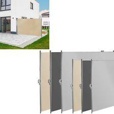 Seitenmarkise Seitenrollo Sichtschutz Windschutz Sichtschutz Auswahl Farbe Größe