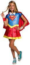 Child SUPERGIRL DELUXE Superhero Girls DC Comic Halloween Fancy Dress Costume