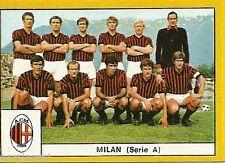 FIGURINE CALCIATORI EDIS 1969 / 70 * MILAN * SQUADRA -  NUOVA