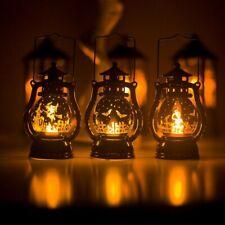 Halloween LED Lanterne Lumières Sorcière Château Fête Suspendu Décoration Lampe