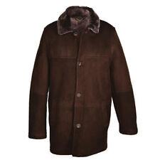 Men's Claude Long Fit Everday Sheepskin Jacket - Warm Sheepskin Coat