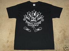The Who Wizard 1969 S, M, L, XL, 2XL Black T-Shirt