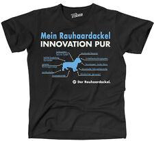 TINNO T-Shirt Hunde Hund INNOVATION PUR RAUHAARDACKEL fun Siviwonder