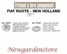 Frizione disco trattore serie TL L.65 15784 15785 FIAT RUOTE NEW HOLLAND 310mm