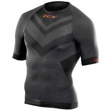 TCX T-Shirt Black Short Sleeve Base Layer Motorcycle Breathable Underwear