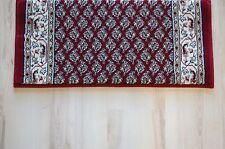 Alfombra De Pasillo Ragolle Mir Rojo 100cm Ancho 400-695cm según Medida Da Vinci