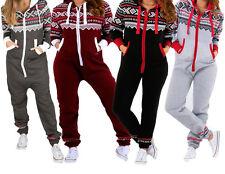 Kids Unisex AZTEC PRINT Hooded Zip Onesie Jumpsuit Kids Girls Boys Age 7-13 year