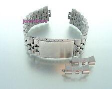 mm. 19 Cinturino Bracciale per Orologio in Acciaio mod. Jubilee ansa