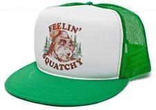 New Retro FEELIN' SQUATCHY Gone Squatchin Keep it Squatchy Hat Cap all colors