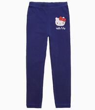Pantalones niños niñas legginghose Hello Kitty azul Gr. 104 116 128 140 pantalones de deporte