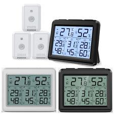 1*Digital_Display Indoor Thermometer Hygrometer Temperature Humidity With Sensor