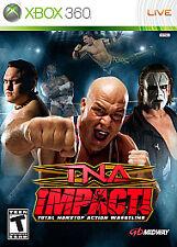 TNA IMPACT XBOX 360! FEEL PAIN WRESTLING! STING, KURT ANGLE, BOOKER T, SAMOA JOE