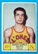 Figurina/Sticker CAMPIONI DELLO SPORT 1968/69-n.271-CARLO GATTI-ITALIA-rec