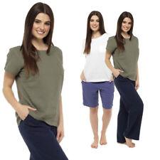 Ladies Linen T Shirt Summer Fashion Classic Vintage Top Khaki White Sizes 8-22