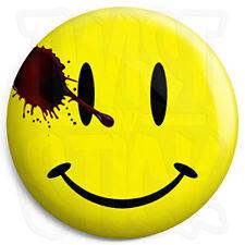 Watchmen Movie Smiley - Button Badge - 25mm Badges with Fridge Magnet Option