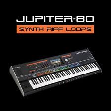 Jupiter 80 synth Riff Melody Boucles-Ableton Live Cubase fl studio logic pro