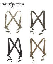 Viking Tactics VTAC Brokos/Duty Belt Combat Suspenders-Multicam-Coyote-OD-Black
