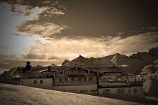 Obergurgl Hochgurgl Ski resort Tirol Austria photograph picture poster art print