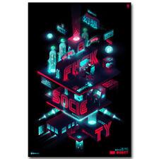 Mr Robot TV Series Art Silk Poster 8x12 24x36 24x43