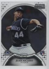 2011 Bowman Sterling #26 Juan Nicasio Colorado Rockies RC Rookie Baseball Card