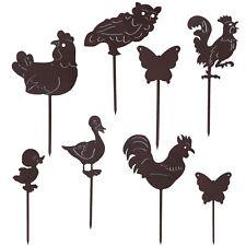 Animali in ferro battuto verniciato decorazione casa giardino vasi fioriere orto