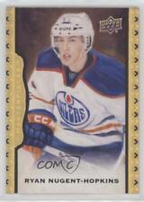 2014 Upper Deck Masterpieces Black Framed 61 Ryan Nugent-Hopkins Edmonton Oilers