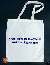 SHOPLIFTERS... Smiths Morrissey cotton Tote shopper Bag