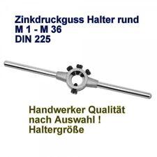 Schneideisenhalter M1-M42 Aufnahme von Schneideisen DIN225 Zink Druckguss