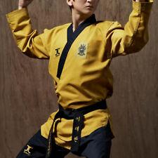 JCALICU POOMSAE Master/High Dan Gold WTF Poomsae Uniform