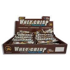 (75,80 Eur/100 G) All Stars Whey-Crisp Protéines Pro Bâton 24 X 50g 30% Ligue