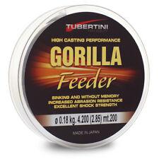 Monofilament fishing line - TUBERTINI GORILLA FEEDER - 200m.