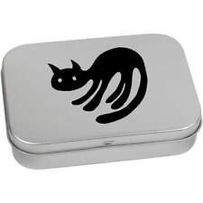 'Black Cat' Metal Hinged Tin / Storage Box (TT003710)