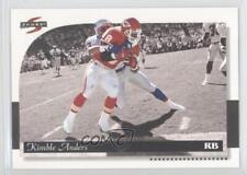 1996 Score Field Force #127 Kimble Anders Kansas City Chiefs Football Card