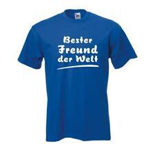 Bester Freund der Welt, lustiges witziges Sprüche Funshirt (FAF005)