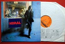 KORAL HARD HEAVY ROCK RARE HUNGARIAN PRESSING LP